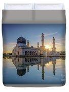 Kota Kinabalu City Mosque II Duvet Cover
