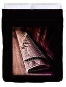 Koto - Japanese Harp Duvet Cover