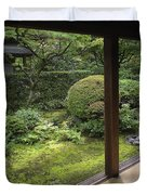Koto-in Zen Temple Side Garden - Kyoto Japan Duvet Cover