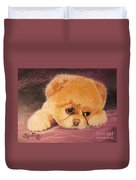 Flying Lamb Productions     Koty The Puppy Duvet Cover