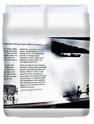 Mv Krait Historical Information Duvet Cover