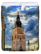 Krakow Town Hall Duvet Cover