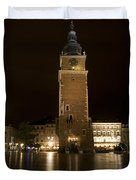 Krakow Town Hall Tower Duvet Cover