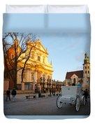 krakow 'XIX Duvet Cover