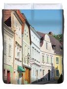 Kreme City Street Duvet Cover