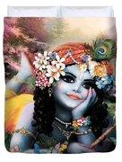 Krishna-sky Boy Duvet Cover