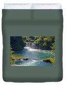 Krka National Park Waterfalls 5 Duvet Cover