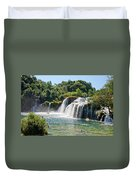 Krka National Park Waterfalls 9 Duvet Cover
