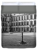 Kronborg Castle Courtyard Duvet Cover