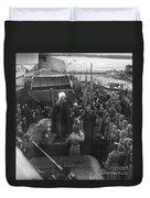 Kronstadt Mutiny, 1921 Duvet Cover