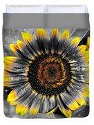 Krypton's Sun Flower Bwy Duvet Cover