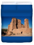 Ksar In The Dades Valley Duvet Cover