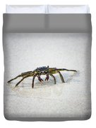 Kua Bay Crab 1 Duvet Cover