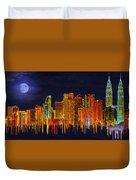 Kuala Lumpur Duvet Cover
