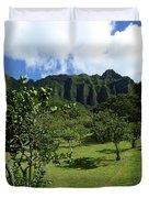 Kualoa Orchard Duvet Cover