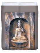 Kuan Yin Meditating Duvet Cover