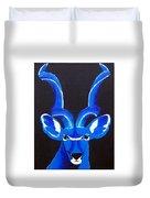 Kudu Blue Duvet Cover