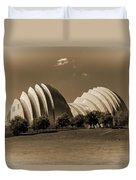 Kauffman Center Of Performing Arts Duvet Cover