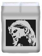 Kurt Cobain Poster Art Duvet Cover