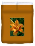 Kwanzaa Lily Duvet Cover