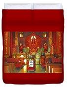 Kwon Yin Temple 1 Duvet Cover