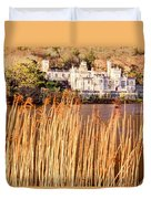 Kylemore Abbey, County Galway Duvet Cover