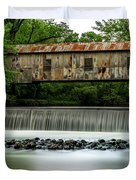 Kymulga Covered Bridge  1864 Duvet Cover