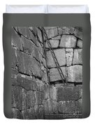 Kyoto Palace Stone Wall Duvet Cover