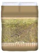 La Antique Map Duvet Cover