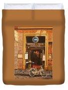 La Bicicletta Duvet Cover