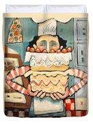La Boulanger Francaise Duvet Cover