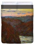 La Creuse, Sunset Duvet Cover