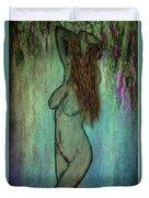 La Femme II Duvet Cover