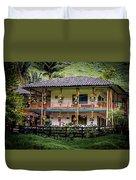 La Finca De Cafe - The Coffee Farm Duvet Cover