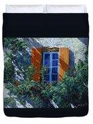 La Finestra E Le Ombre Duvet Cover