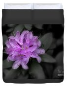 La Fleur Pourpre Duvet Cover