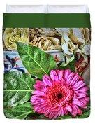 La Flor De La Castellana Duvet Cover
