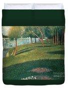 La Grande Jatte Duvet Cover by Georges Pierre Seurat