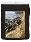 La Jolla Beach Duvet Cover