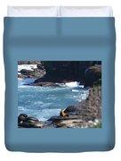 La Jolla Cove Duvet Cover