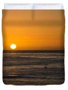 La Jolla Sunset Duvet Cover