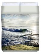 La Jolla Towards Casa Cove Duvet Cover