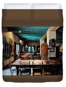 La Posada Historic Hotel Lounge Duvet Cover