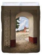 La Purisima Arch Duvet Cover