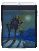 La Quinta Cove And Moonlight Duvet Cover