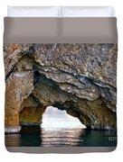 La Roca Foradada - Of L'estartit Duvet Cover