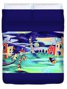 La Tempesta - Grand Canal Palace Duvet Cover