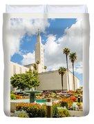 La Temple Gardens Duvet Cover