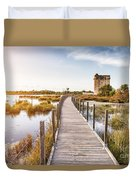 La Tour Carbonniere - Camargue - France Duvet Cover