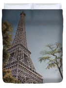 La Tour Eiffel 2 Duvet Cover